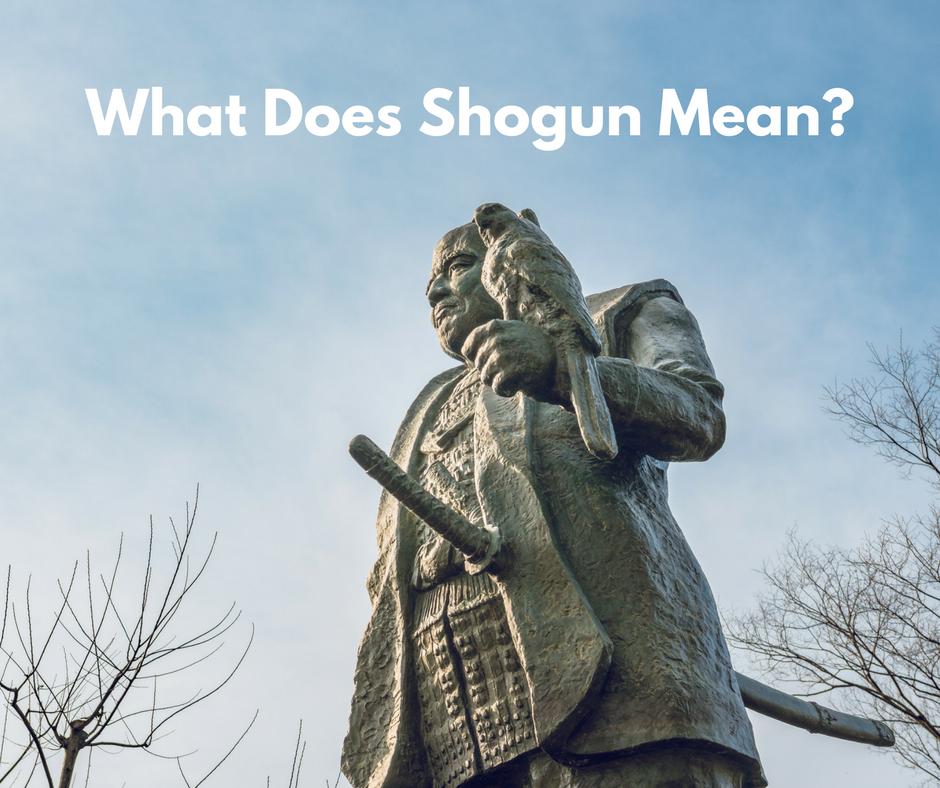 What Does Shogun Mean