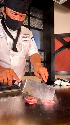 Dine at Shogun During Magical Dining