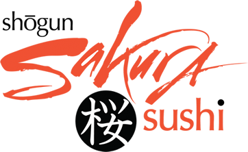 Shogun Sakura Sushi - Menus and Information Button